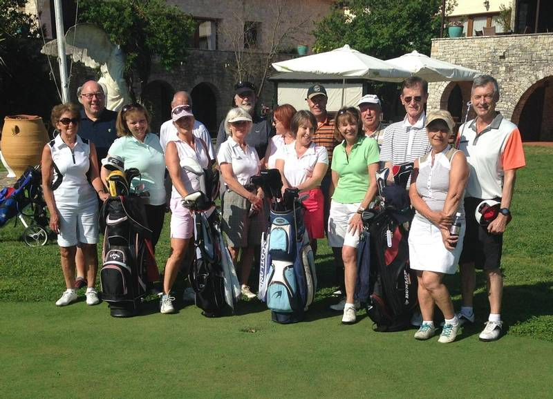 singles on a group golf holiday