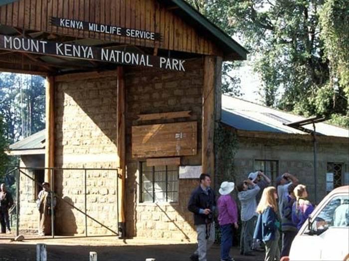 Mount Kenya National Park entrance (Julia Casson)