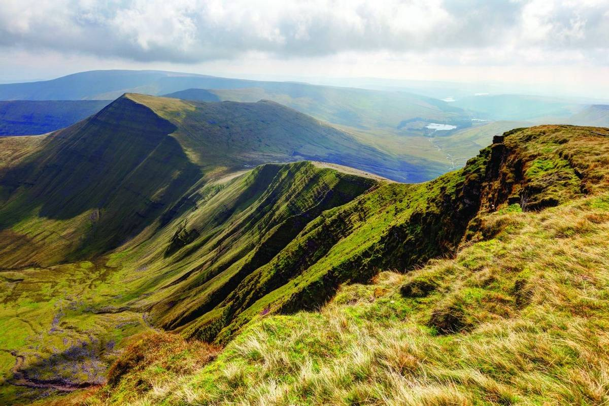 Brecon Beacons National Park from Pen Y Fan