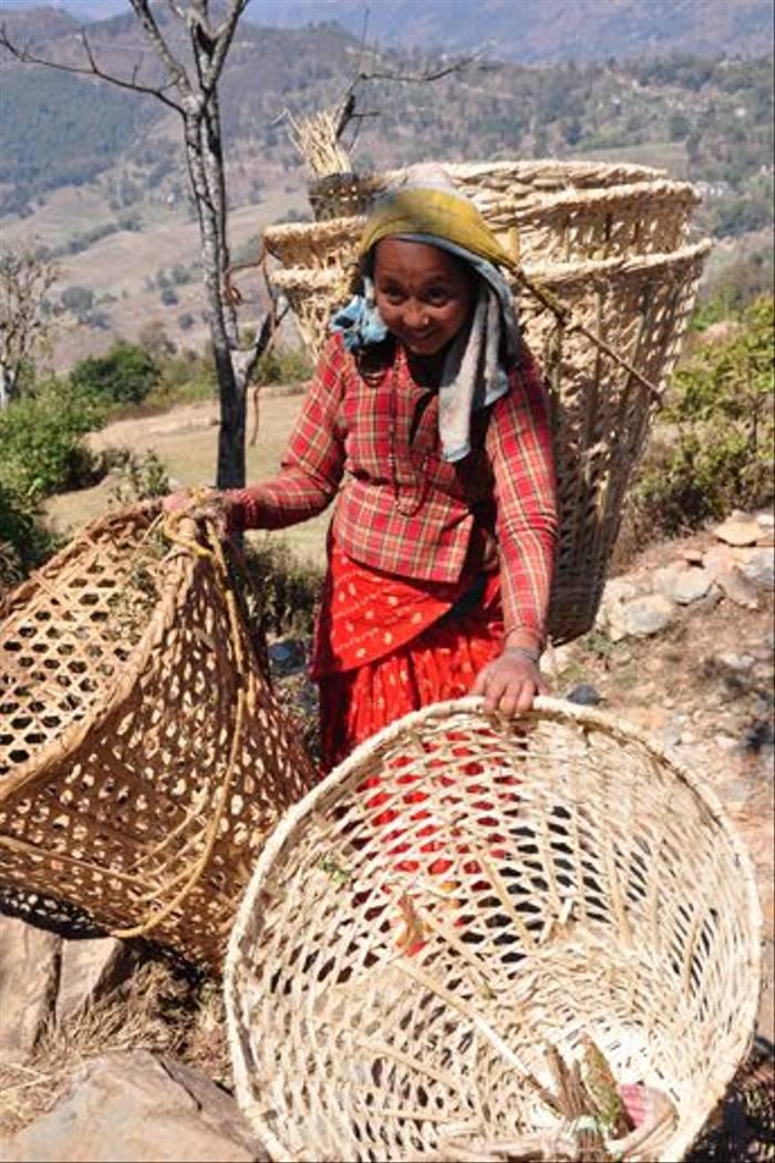 Nepali lady (John Keighley)