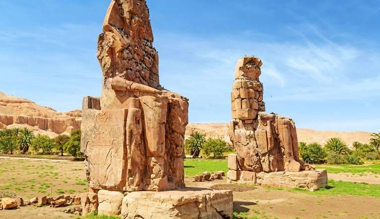 Dreamstime M 30667649 The Colossi Of Memnon