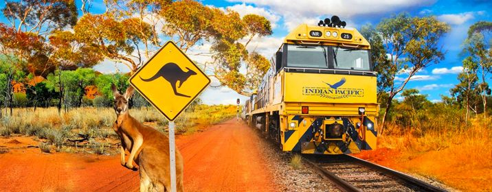 Indian Pacific East to West Australian Adventure and Gems of the Far East Cruise