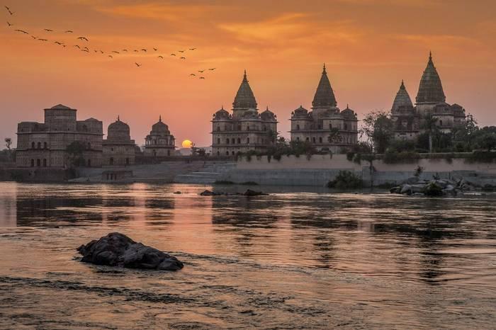 Chhatris, Orccha, India Shutterstock 1188672808