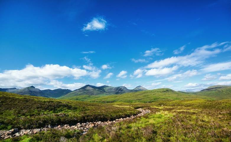 Landscape on West Highland Way