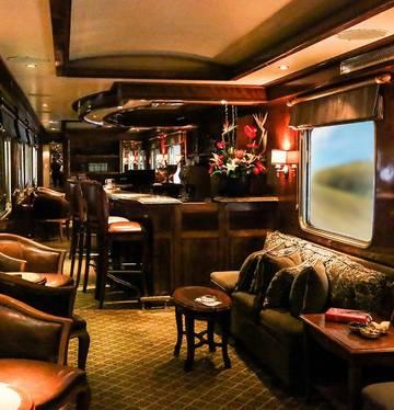 South Africa Blue Train bar
