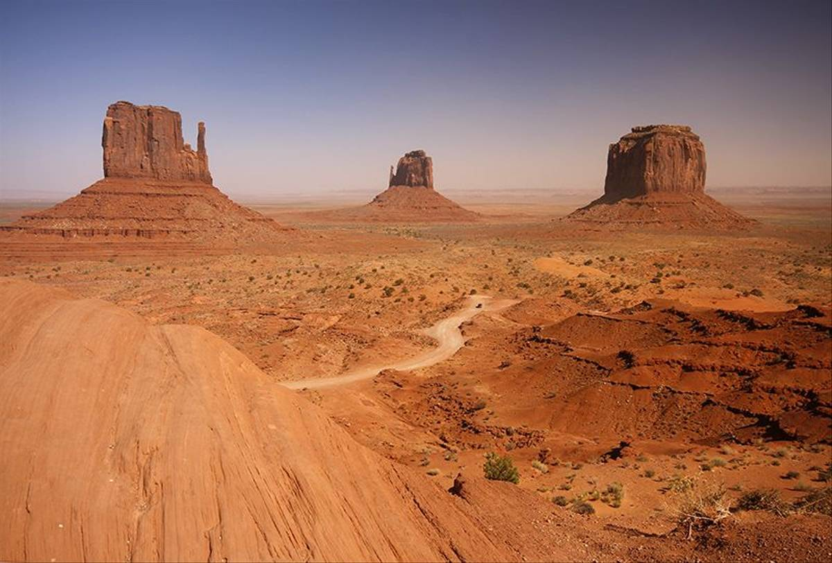 The Mittens and Merrick Buttes, Monument Valley, Arizona