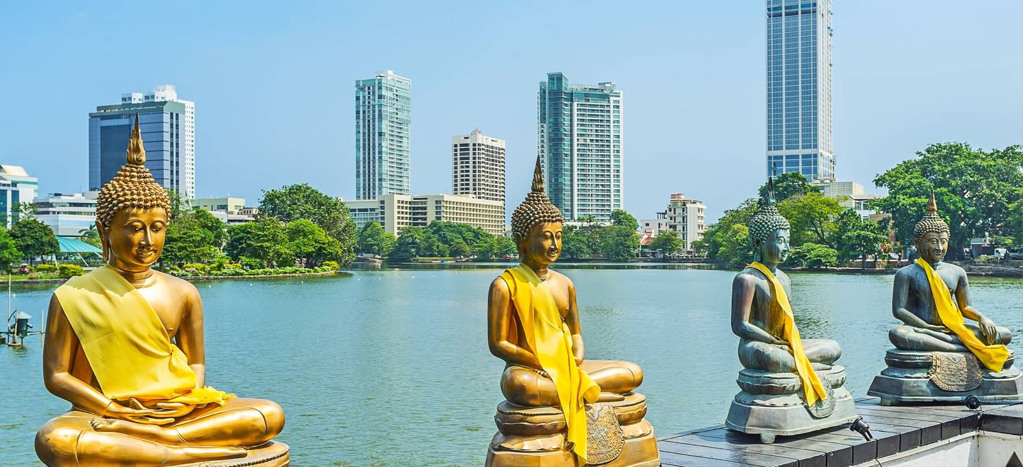 Colombo   Buddha Statues Of Seema Malaka   Itinerary Desktop
