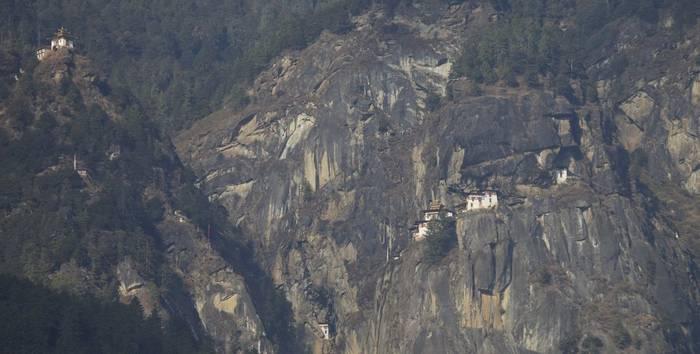 Taktsang Monastery - Tiger's Nest (Liz Seeber)