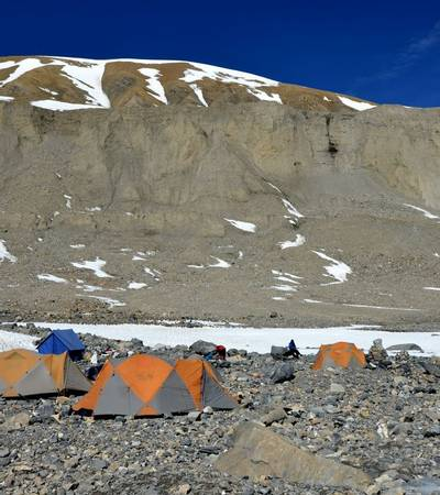 Japanese Base Camp (5,250m)
