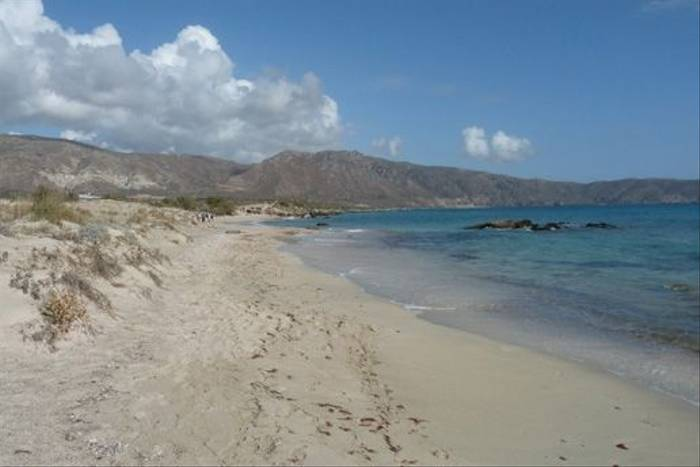 Elaphonisi beach