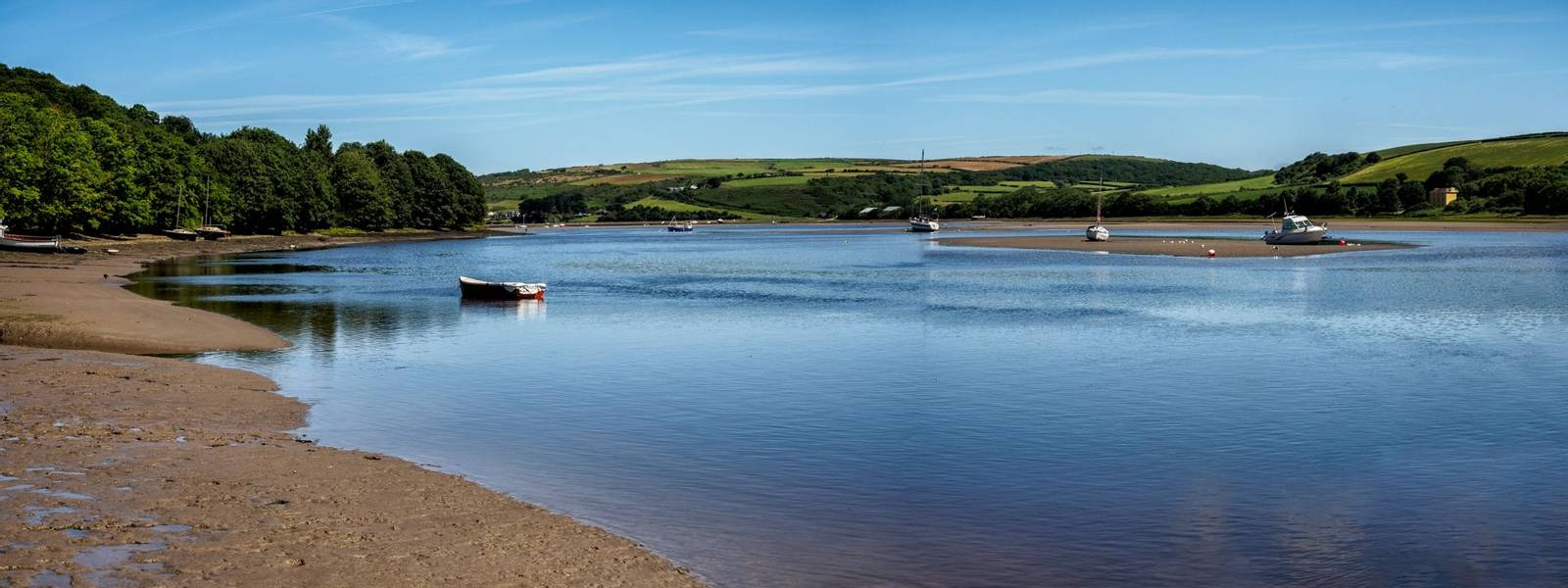 St Dogmaels, Pembrokeshire, Wales  on the estuary of the River Teifi
