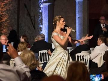 Katherine Jenkins in Rome
