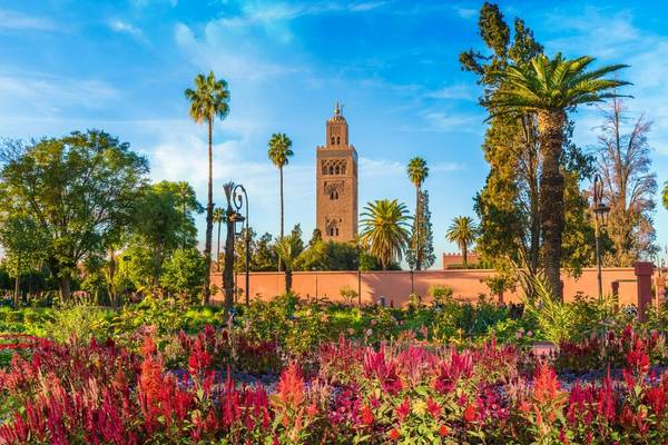 Koutoubia Mosque And Garden, Marrakesh, Morocco Shutterstock 780330766