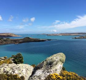 Scilly Isles and travel to Padstow