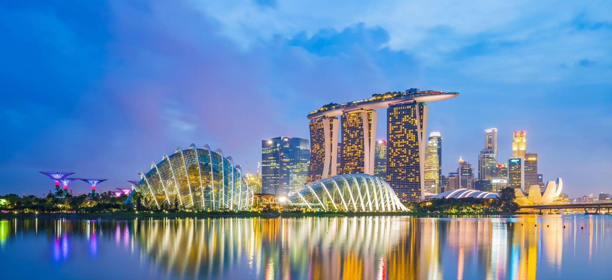 Singapore   City Skyline At Night   Itinerary Desktop