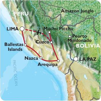 LIMA to LIMA (15 days) Peru Encompassed