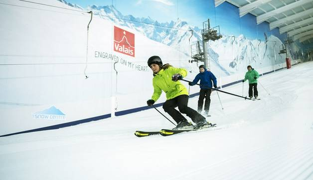 Experienced Skiers Can Make Full Use Of The Slopes