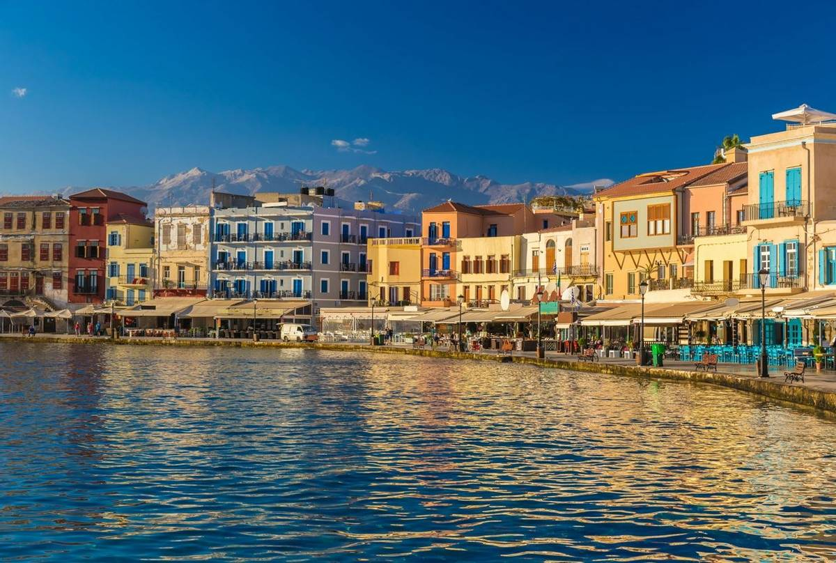 Chania, Crete, Greece Shutterstock 485004634