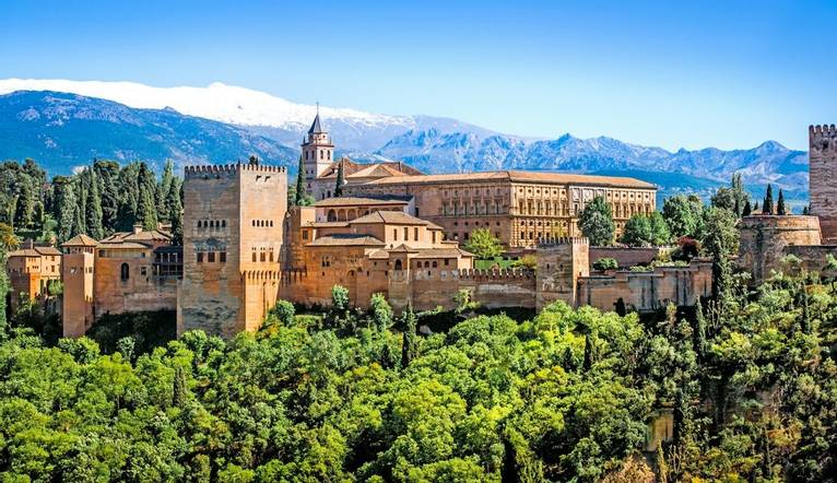View Of The Famous Alhambra   Copy