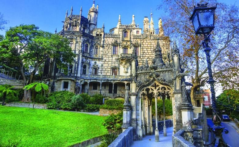 Regaleira Palace (Quinta da Regaleira), Sintra, landmarks of  Portugal