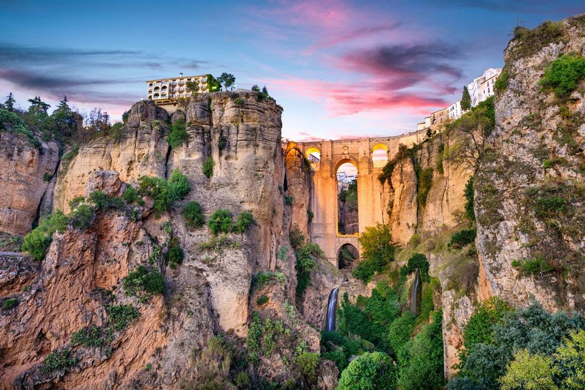 Ronda Spain Puente Nuevo Bridge