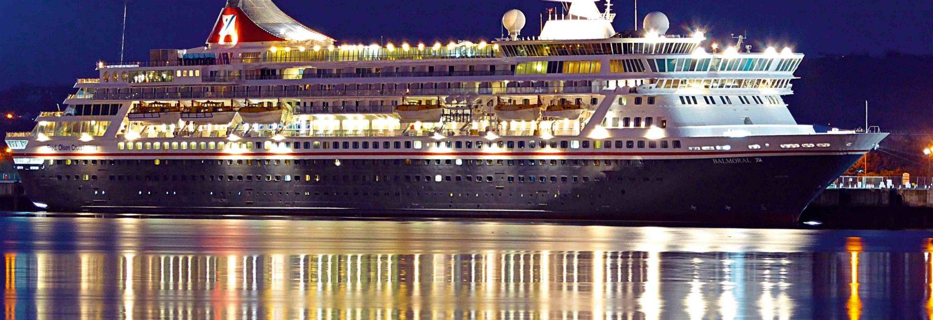 Balmoral docked in Belfast
