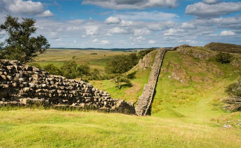 Hadrians Wall near Walltown