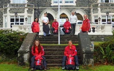 Aberdyfi Search and Rescue Team at Dolserau Hall