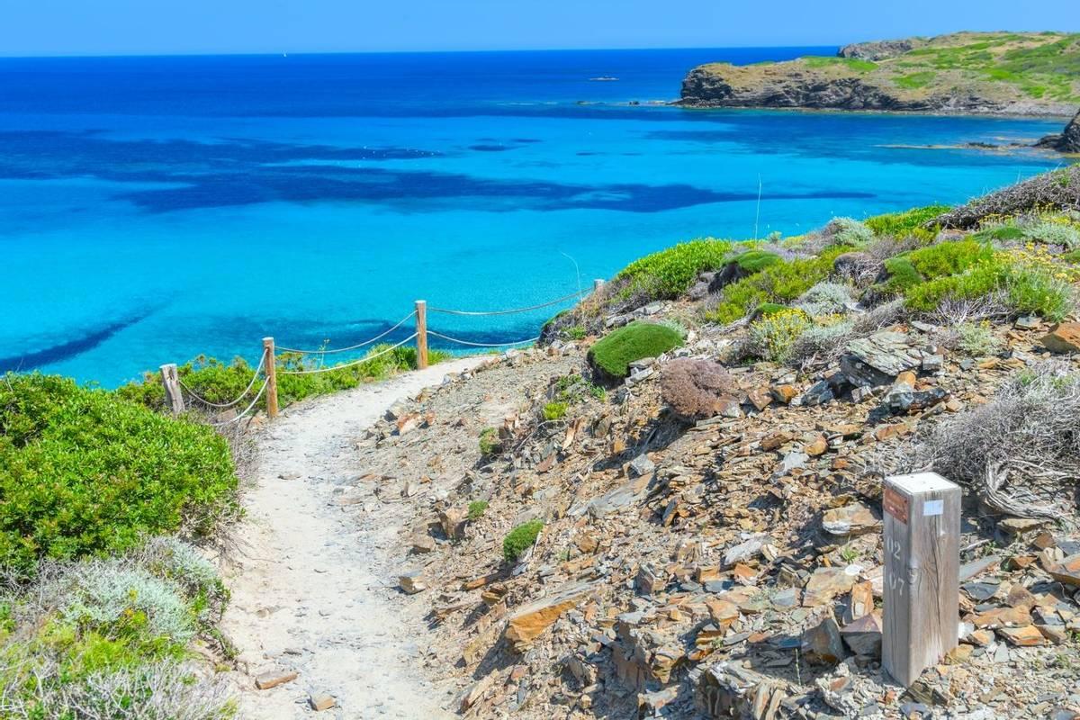 Camino de Caballos (Cami de Cavalls) - famous pathway around Menorca island