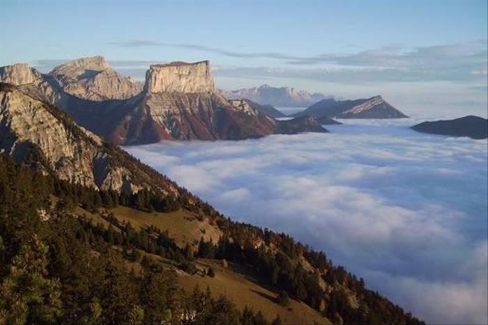 Mt. Aiguille from the Pas de l'Essaure