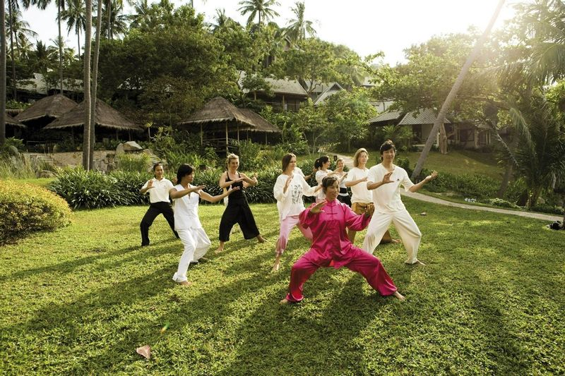 Tai Chi at Kamalaya
