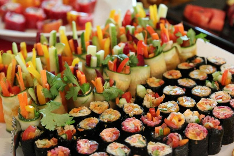 Sushi at Phuket Cleanse