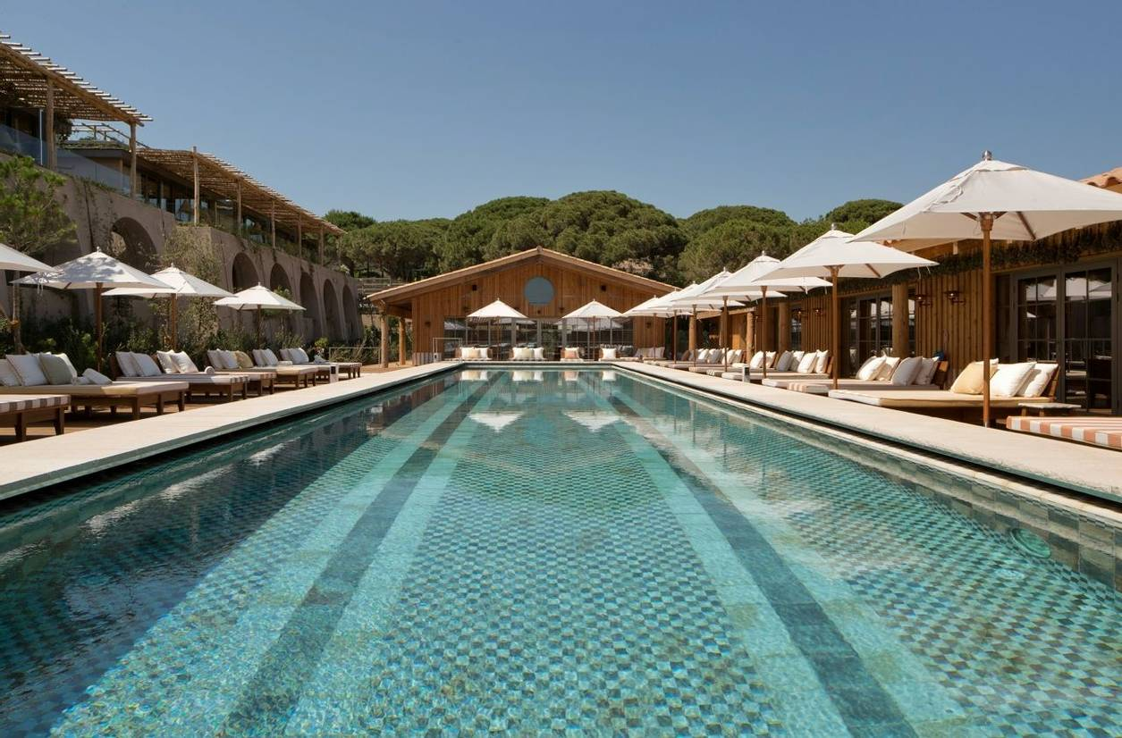 swimming pool at Lily of the Valley