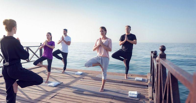Marbella Beach Club Yoga Group