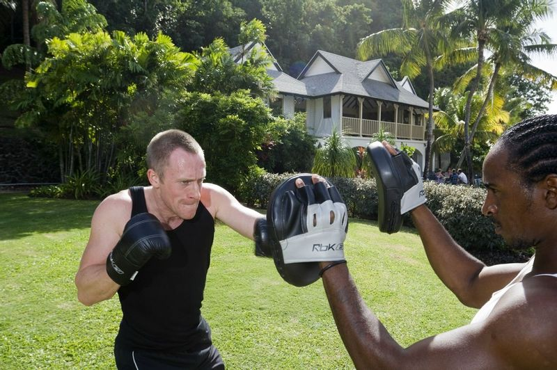 Personal training at the Body Holiday