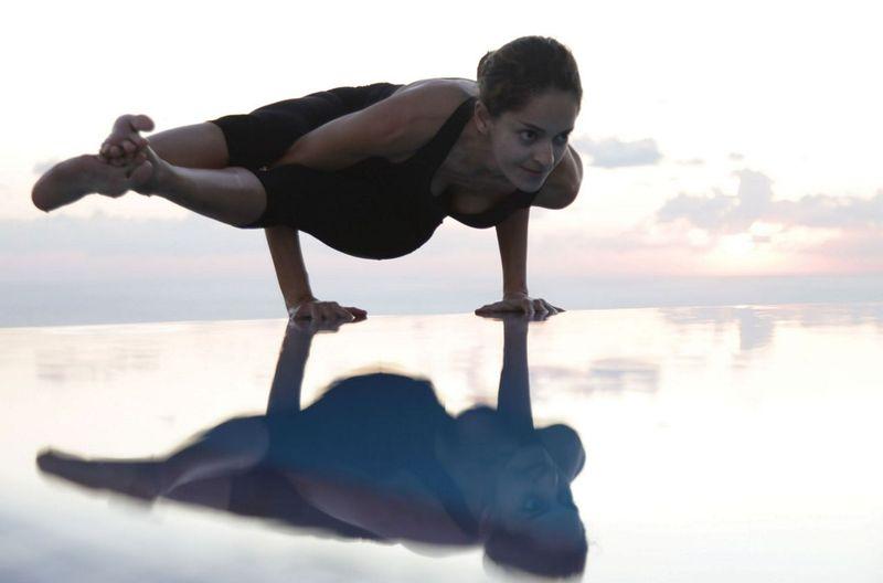 Yoga at Aphrodite Hills