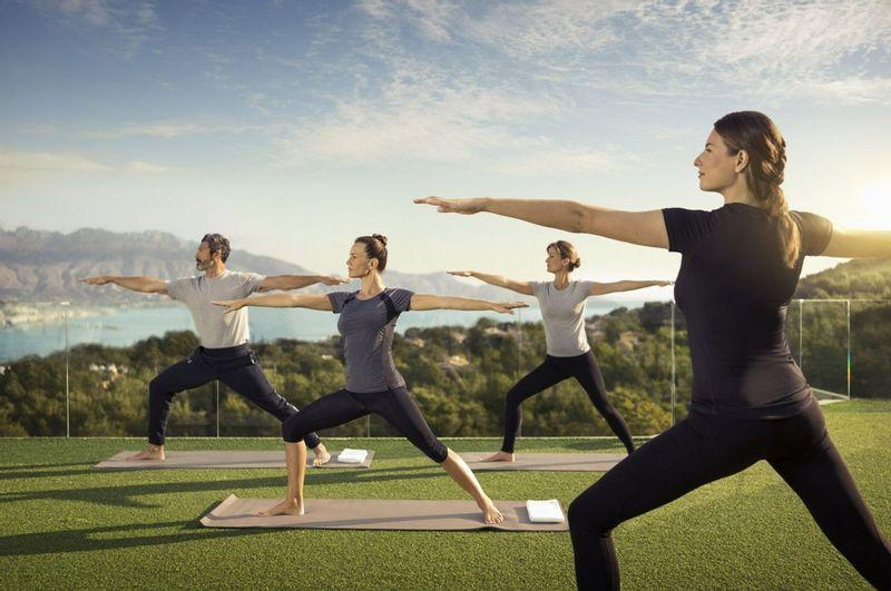 Yoga at SHA Wellness Clinic