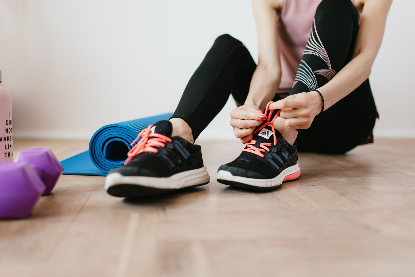 entrez dans une routine d'exercice