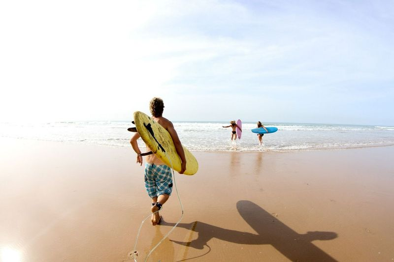 Paradis Plage Surfing