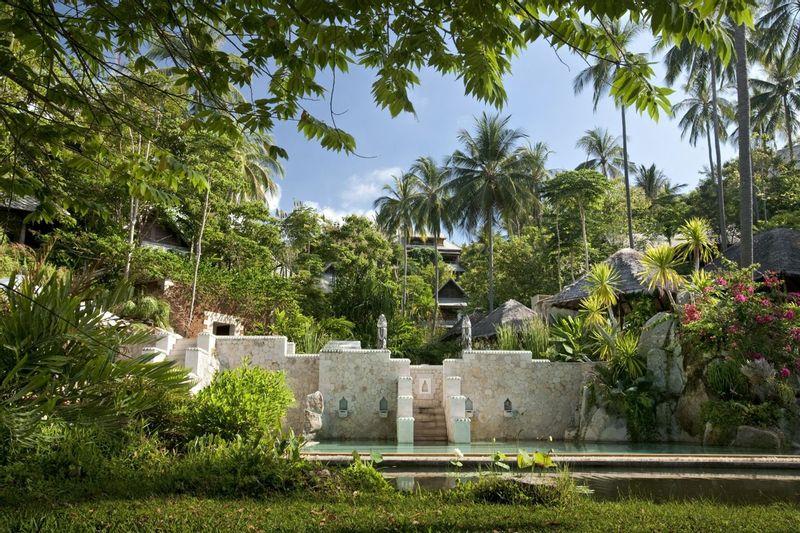 Kamalaya's beautiful gardens