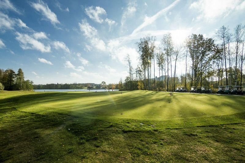The greens at Vilnius Grand Resort