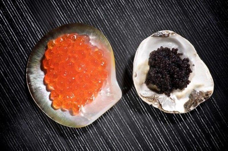 Caviar facial