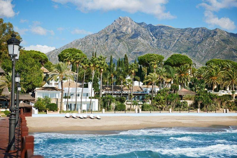 Marbella Club Beach Exterior