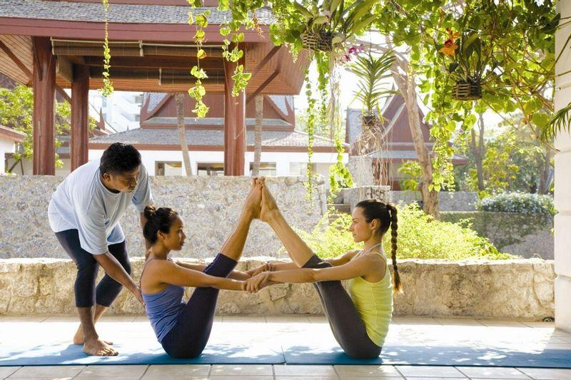 Yoga at Chiva Som