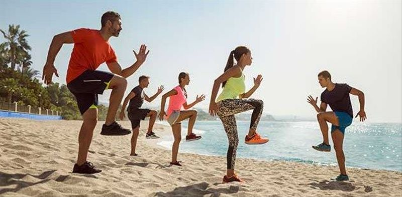 Marbella Beach Fitness Training Group