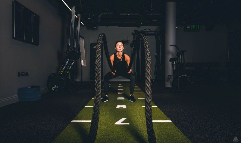 Grantley Hall Exercise Battle Ropes