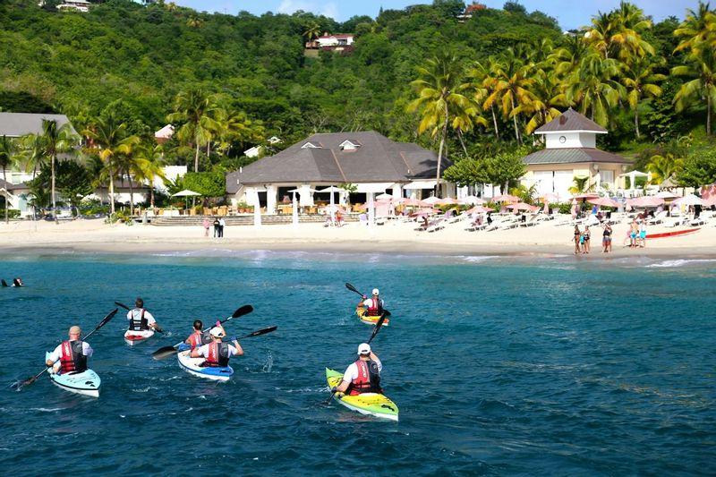 Kayaking at The BodyHoliday