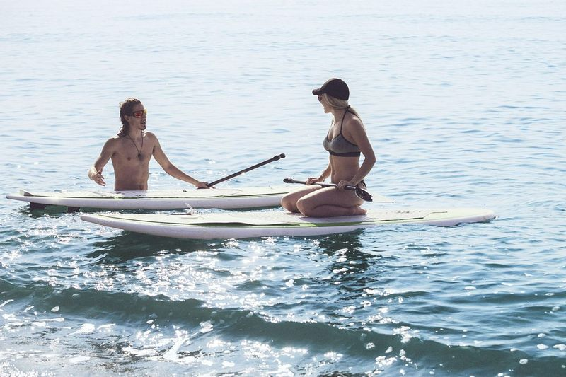 Stand Up Paddleboarding in Portugal