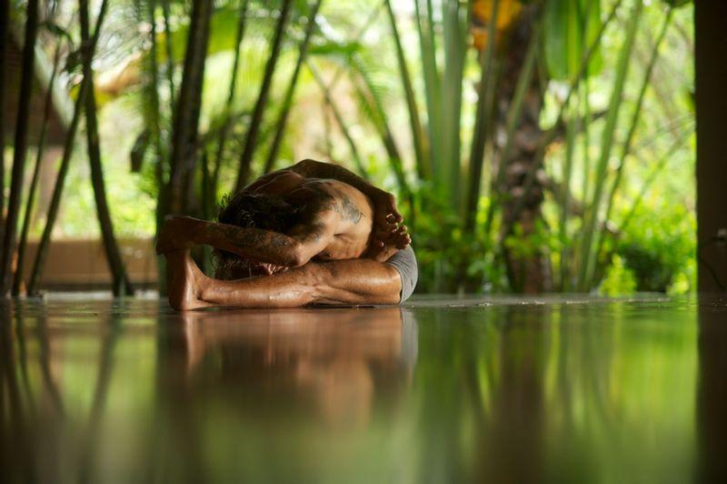 yoga at Florblanca, Costa Rica
