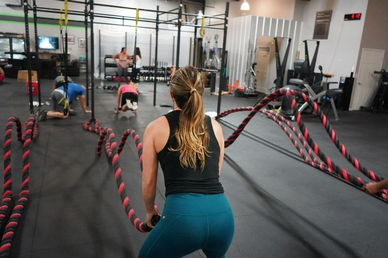rope pull exercise